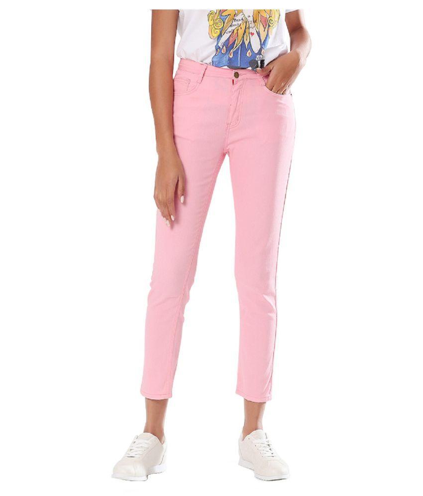 London Rag Cotton Jeans - Pink