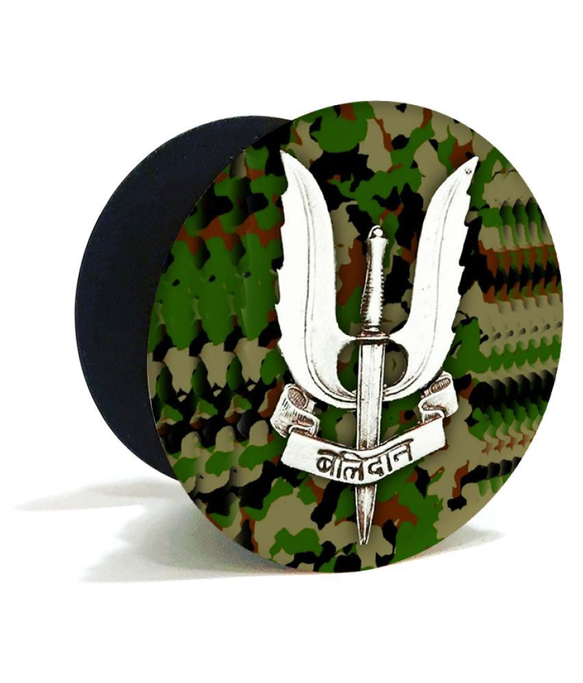 BALIDAAN ARMY JAI HIND QUOTE POP HOLDER BY KRAFTER Price