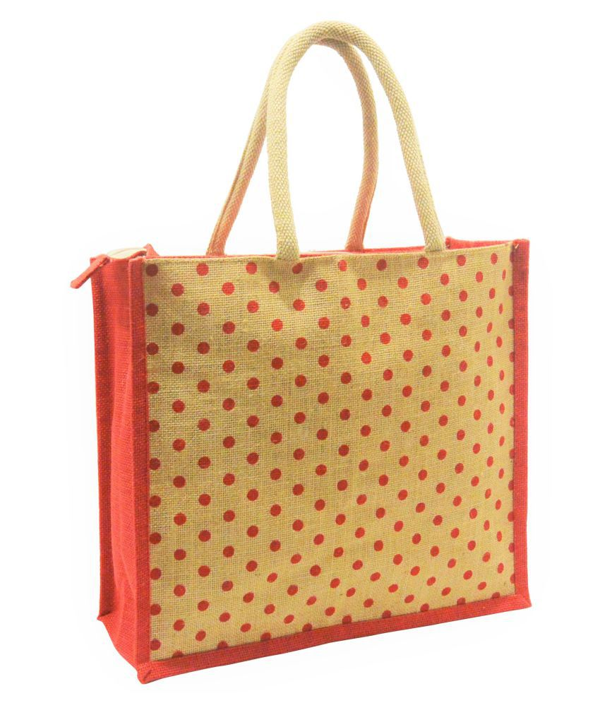 Earthbags Red Shopping Bags - 1 Pc