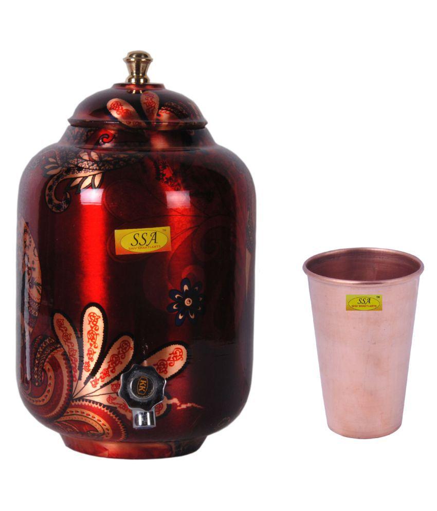 Shiv Shakti Arts Drinkware Pot Set 1 Pcs Lemon set