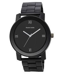 Daniel jubile Steel Chain Black Stainless Steel Analog Men's Watch