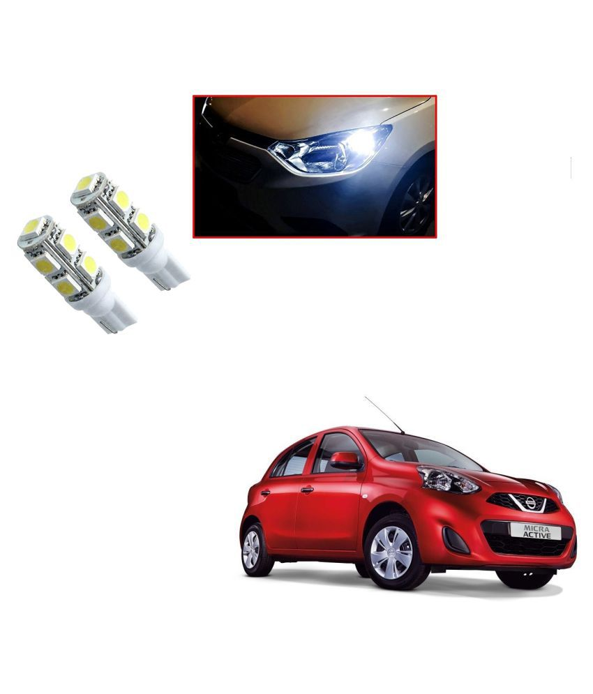 Auto Addict Car T10 9 SMD Headlight LED Bulb for Headlights,Parking Light,Number Plate Light,Indicator Light For Nissan Active