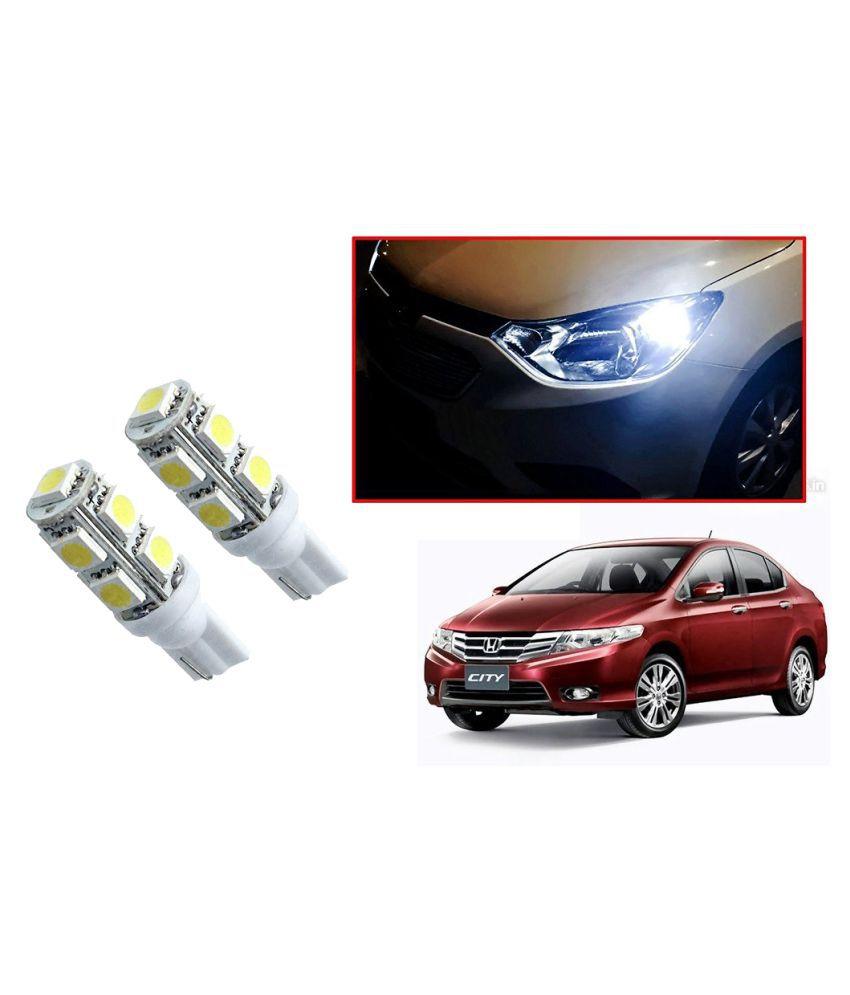 Auto Addict Car T10 9 SMD Headlight LED Bulb for Headlights,Parking Light,Number Plate Light,Indicator Light For Honda City Ivtec(2010-2014)