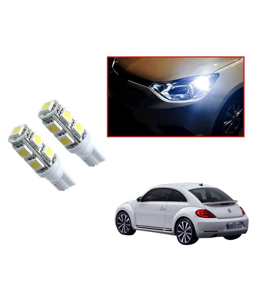 Auto Addict Car T10 9 SMD Headlight LED Bulb for Headlights,Parking Light,Number Plate Light,Indicator Light For Volkswagen Beetle