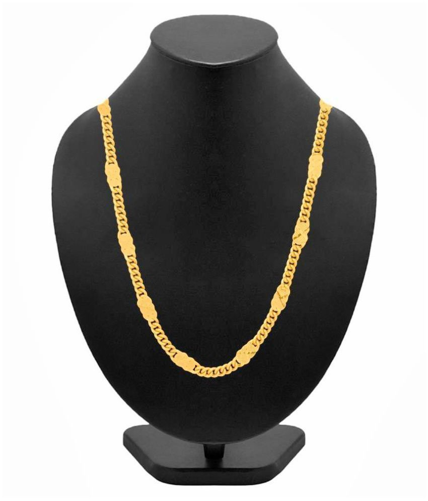 KMR Yellow Gold Foil Chains
