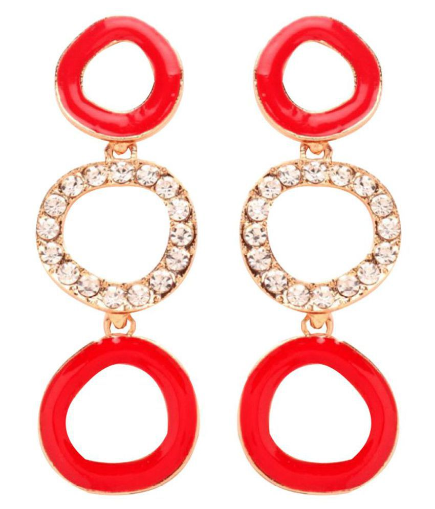GoldNera Multicolour Hanging Earring