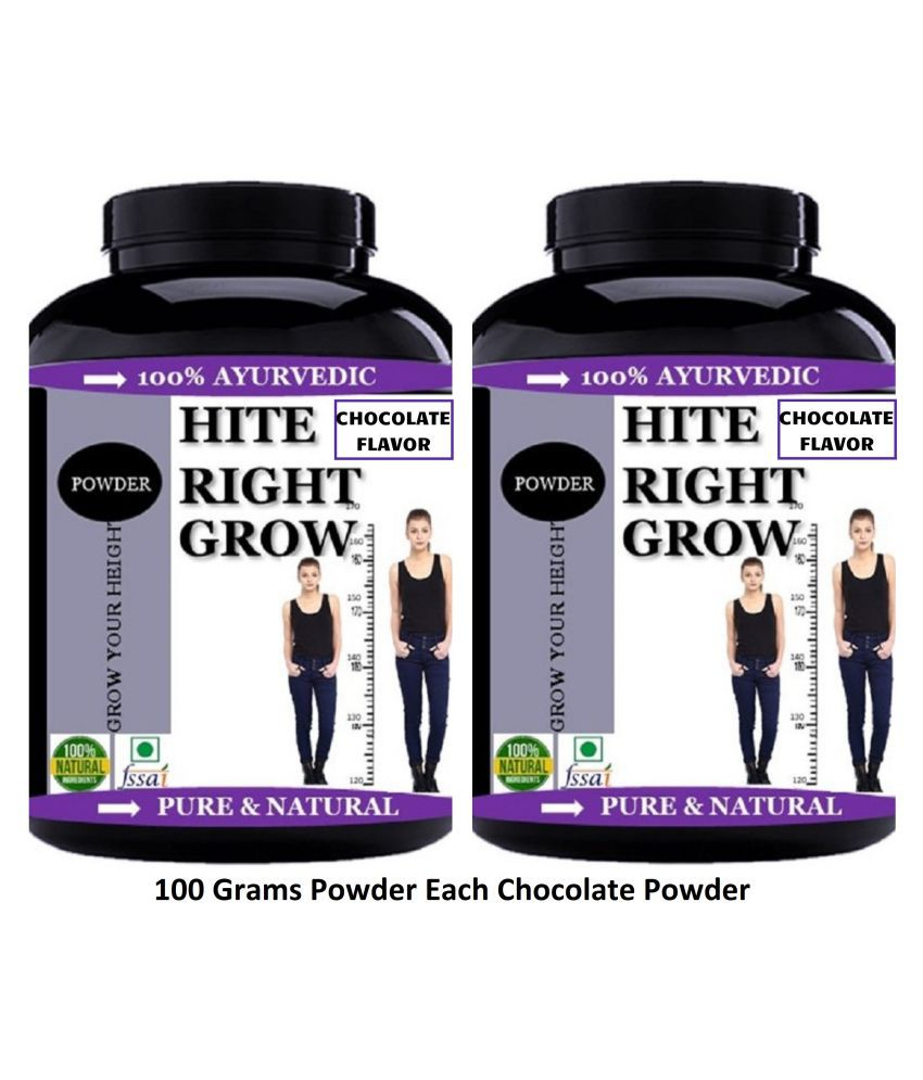 VITARA HEALTHCARE Hite Right Grow Chocolate Flavor Powder 200 gm Pack Of 2