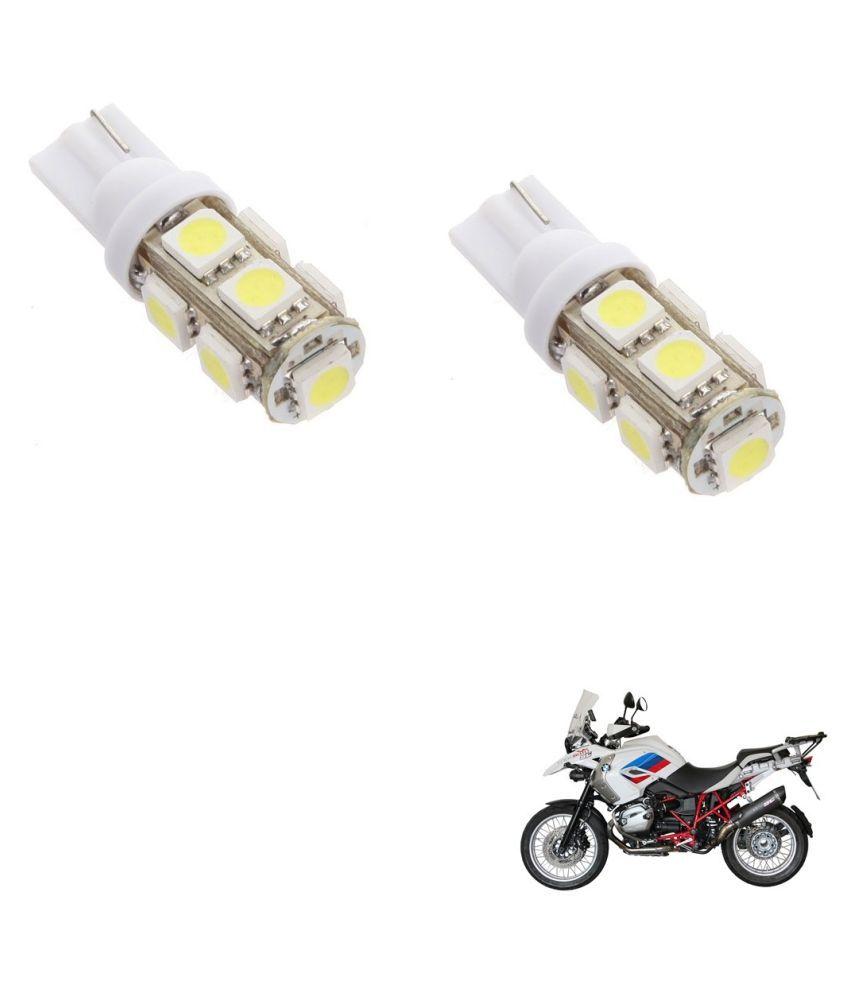 Auto Addict Bike T10 9 SMD Headlight LED Bulb for Headlights,Parking Light,Number Plate Light,Indicator Light For BMW R 1200