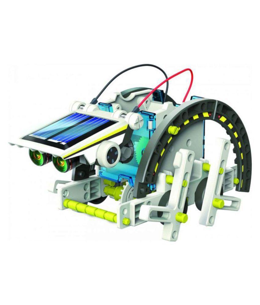 TEMSON Educational 13 in 1 Solar Power Energy Robot Toy ...