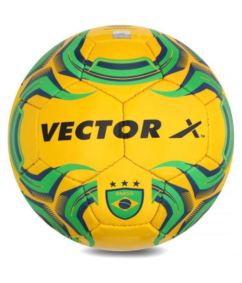 Vector X BRAZIL Yellow Football Size  5