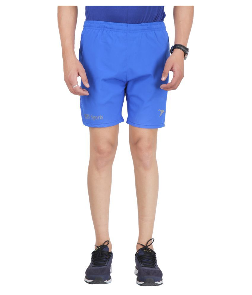 HPS Sports Blue Shorts