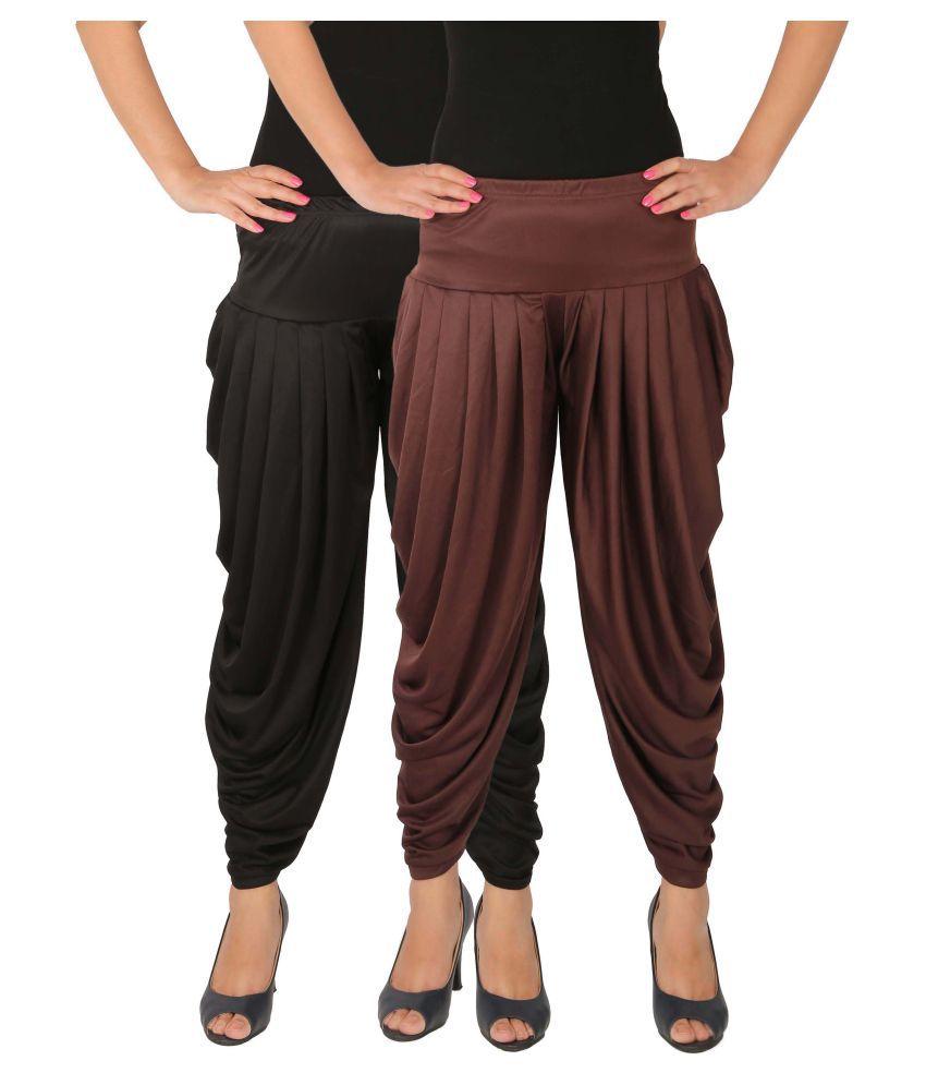 Leap of Faith Lycra Pack of 2 Harem Pants
