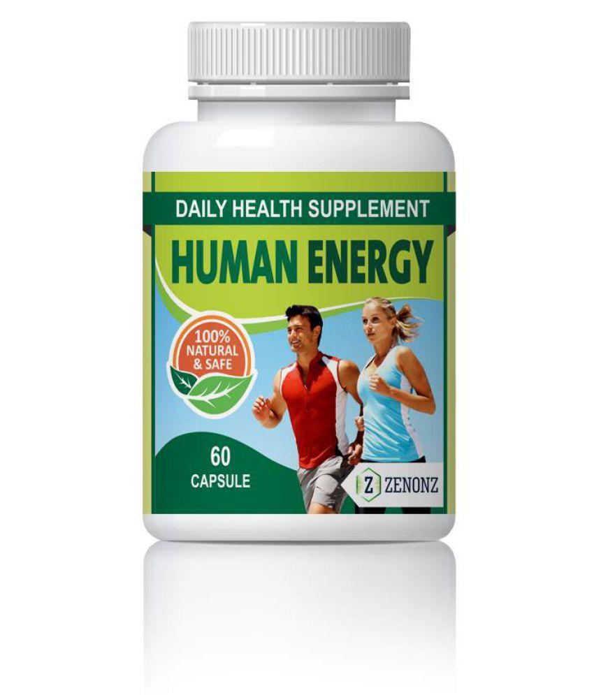 zenonz Human Energy Increases Ability & energy Capsule 500 mg Pack Of 1