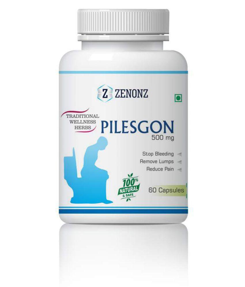 zenonz Pilesgon Bleeding And Non Bleeding Capsule 500 mg Pack Of 1