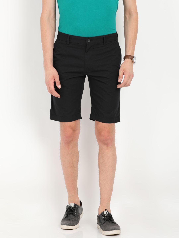 Indian Terrain Black Shorts