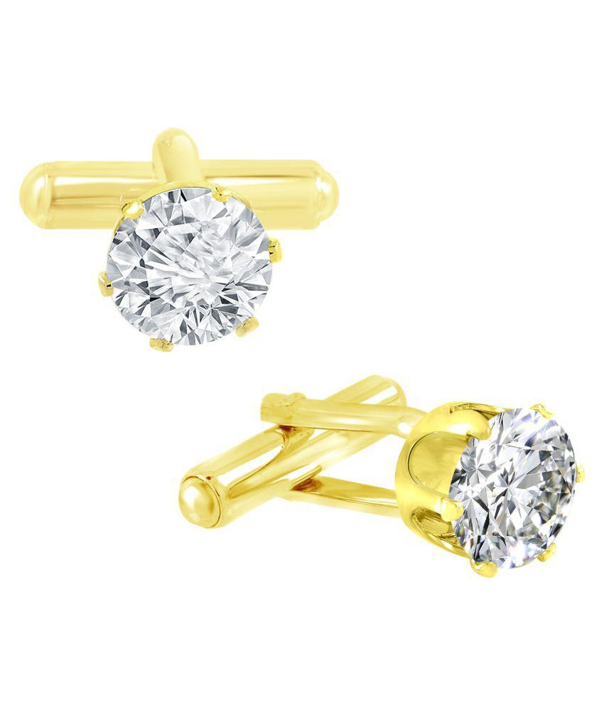 ZIVOM White Brass & Copper etc Cufflinks