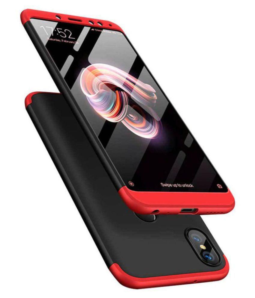 Xiaomi Redmi Note 7 Pro Plain Cases Doyen Creations - Black Premium Quality 360 protection cover