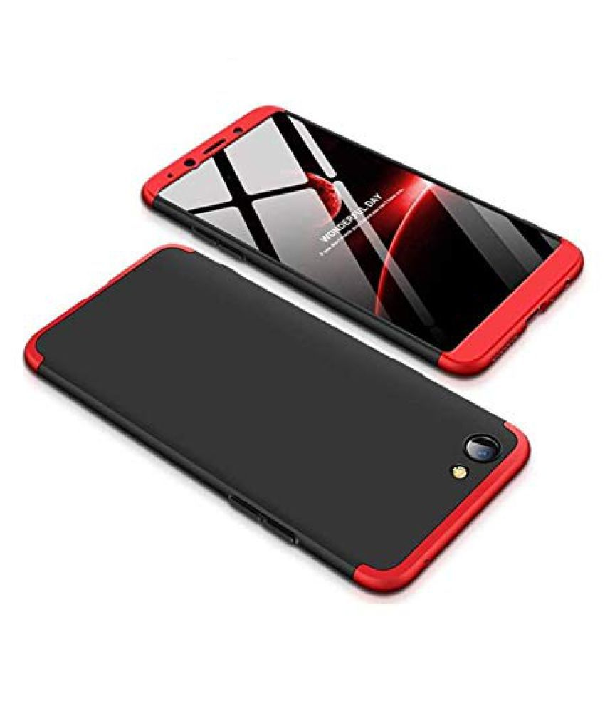 Xiaomi Redmi Go Plain Cases Doyen Creations - Black Premium Quality 360 protection cover