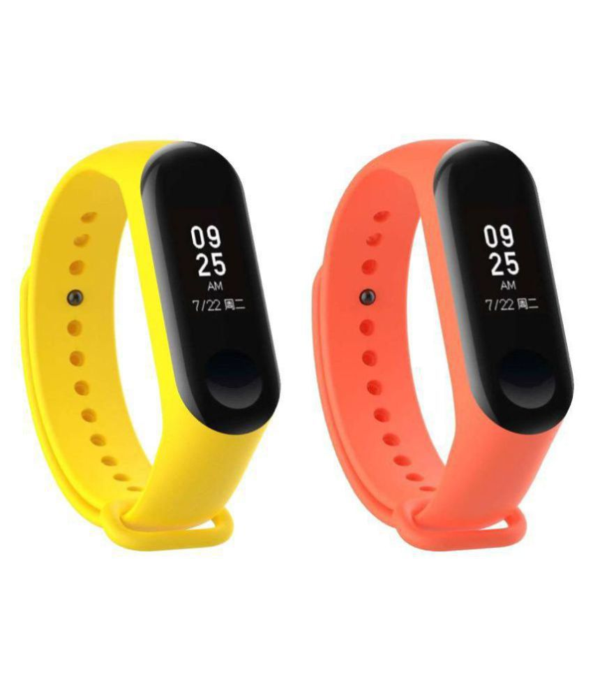 Dirar M3 Smart Band Waterproof Heart Monitoring Sensor Features And Many Other Features Fitness Band & Tracker COMBO (PACK-2)