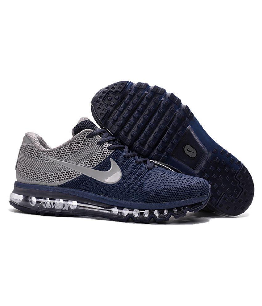 pretty nice e1530 79027 Nike NIKE 2017 GREY BLUE Grey Running Shoes