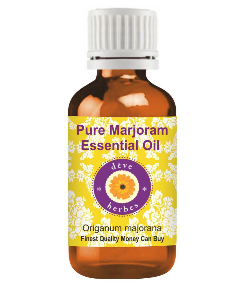 Deve Herbes Pure Marjoram   Essential Oil 50 mL