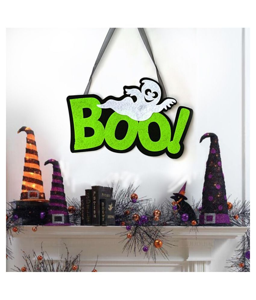 Letter Halloween Hanging Door Decorations and Wall Signs Party Home Decoration