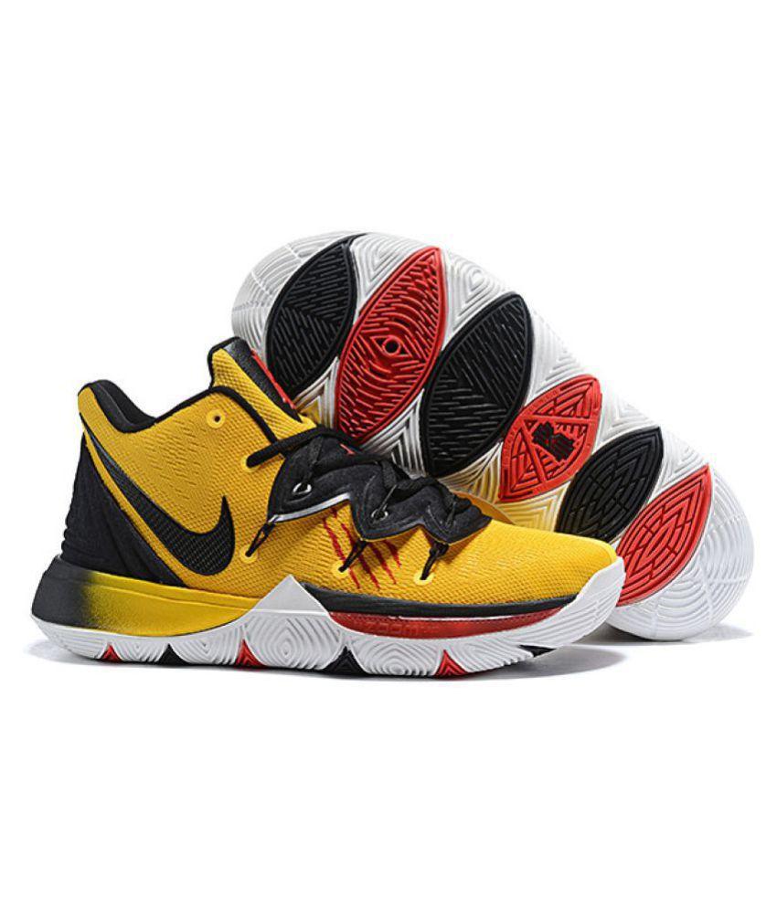 beb5352332 Nike Nike Kyrie 5 2019 Yellow Basketball Shoes