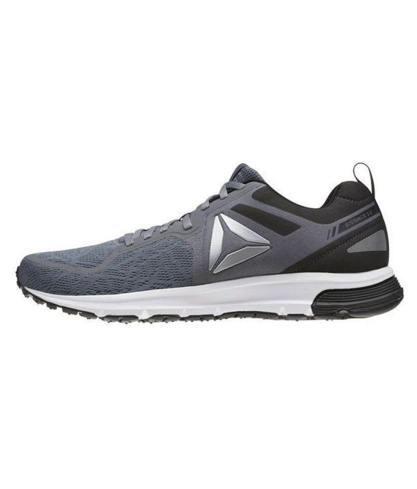 Reebok DISTANCE 2.0 Gray Running Shoes
