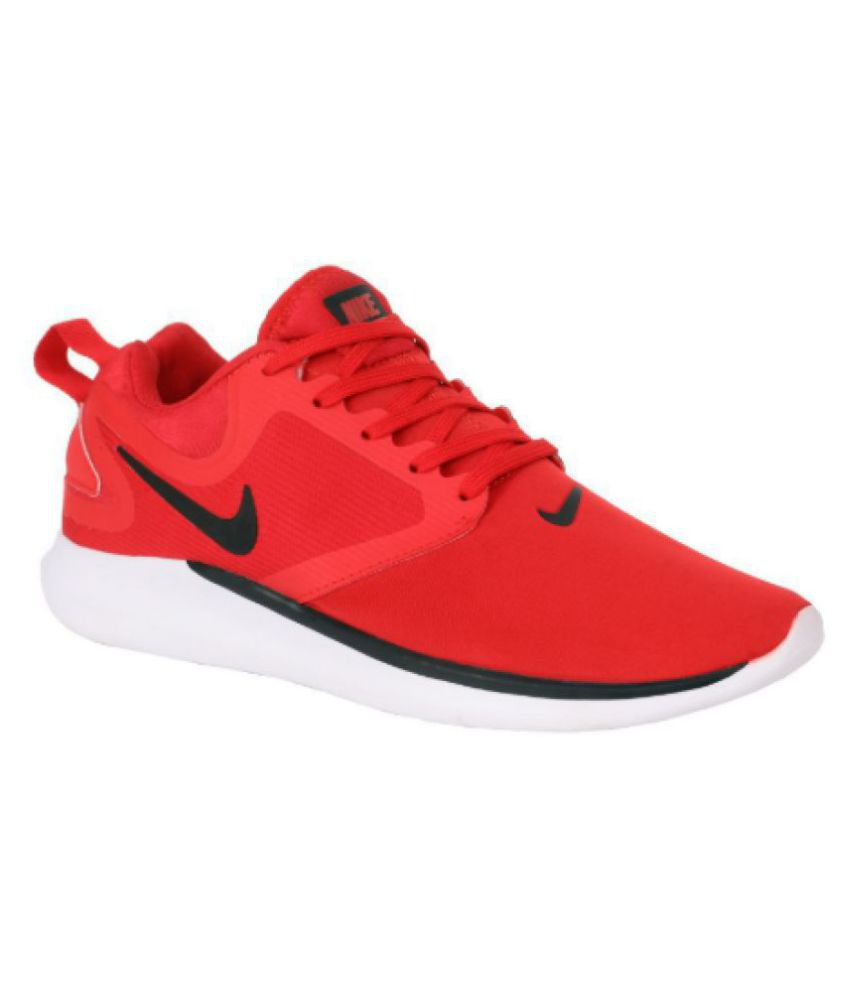 Nike Lunarsolo 2018 Red Running Shoes