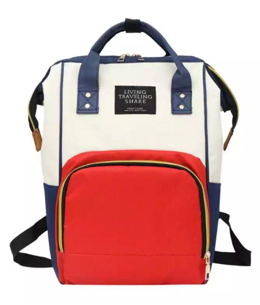 Multi Colour Polyester Diaper Bag