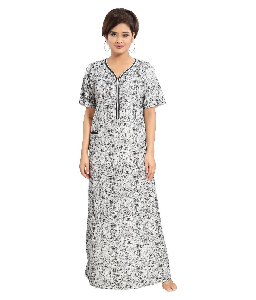 Mallinath Cotton Nighty & Night Gowns - Multi Color