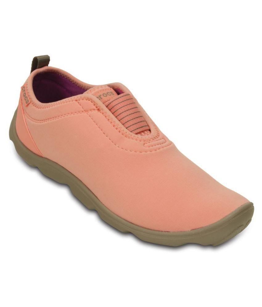 Crocs Orange Casual Shoes