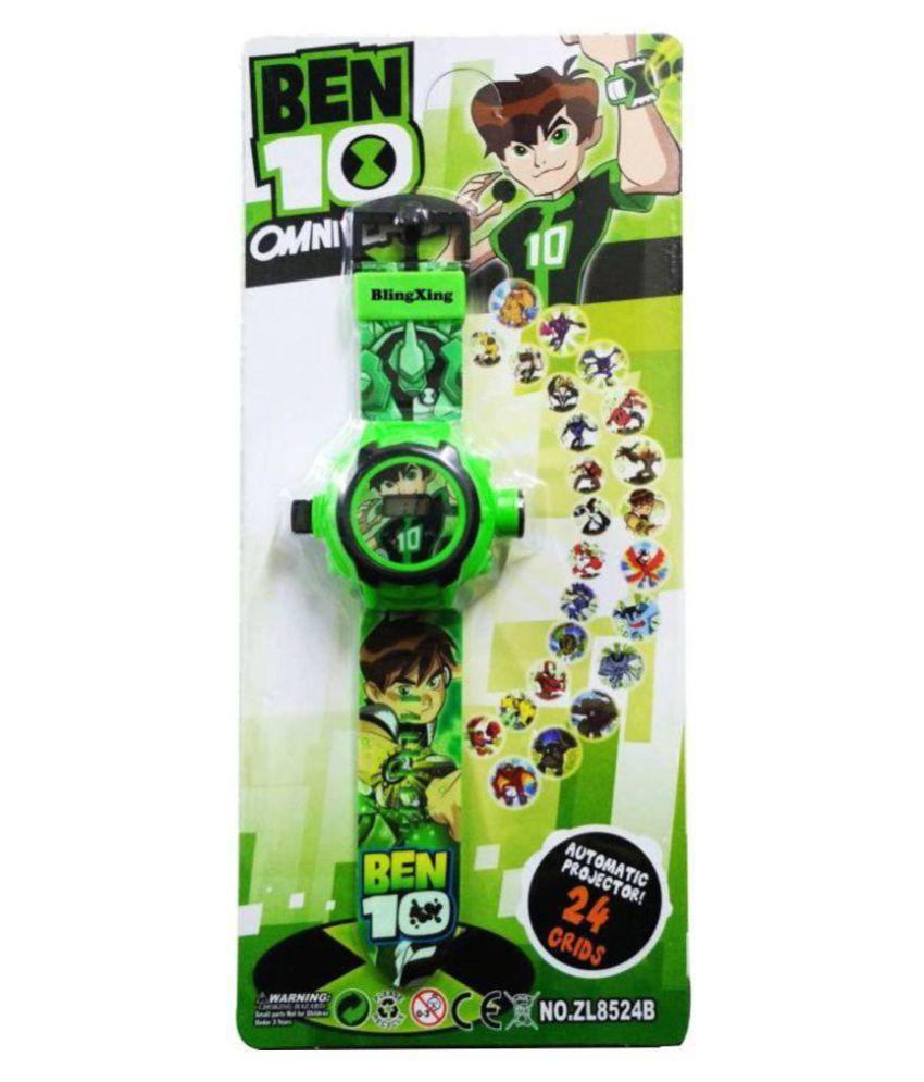 chaya fashions  Projector Watch ben ten green