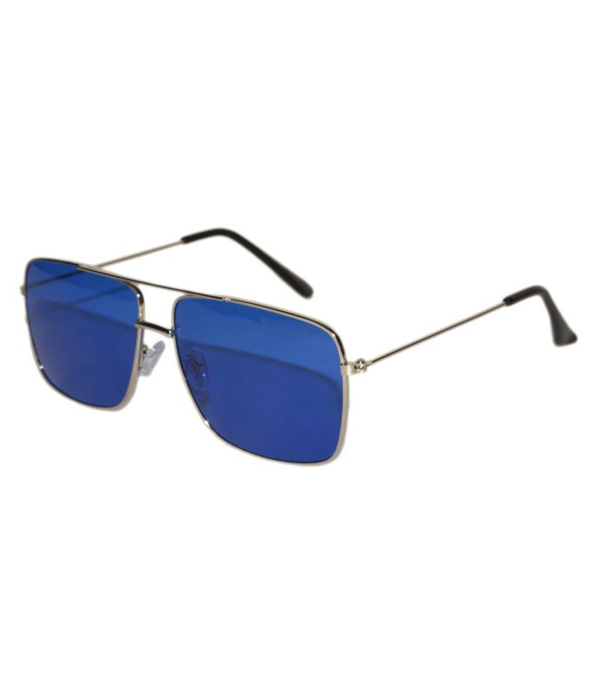 Peter Jones - Blue Square Sunglasses ( ST001BLS )