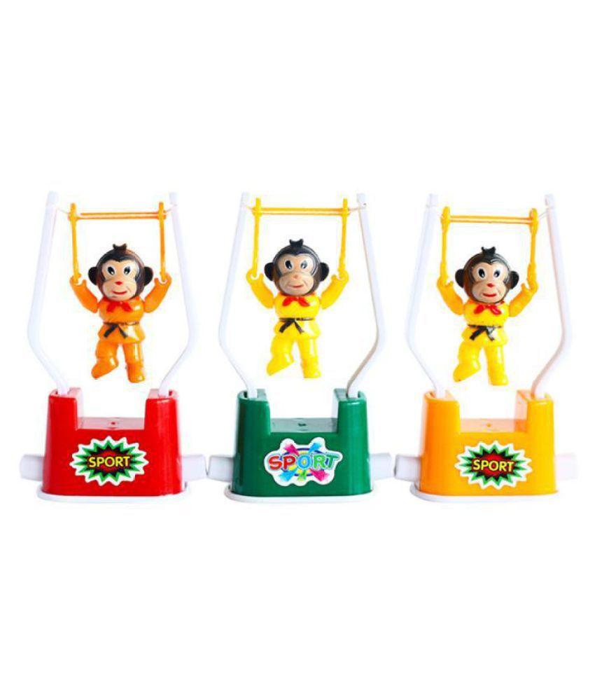 Fun Gymnastics Monkey Flipping Toys Parent-child Interaction Gift Toy