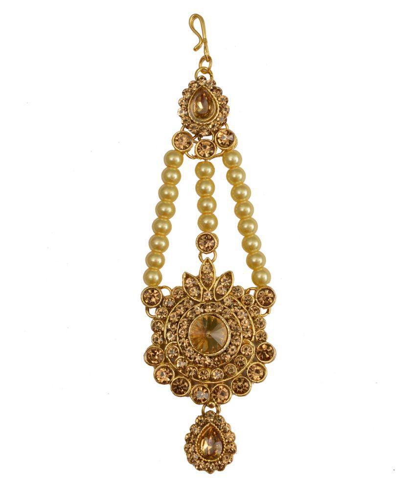 Taj Pearl Designer traditional Wedding wear Jhoomar