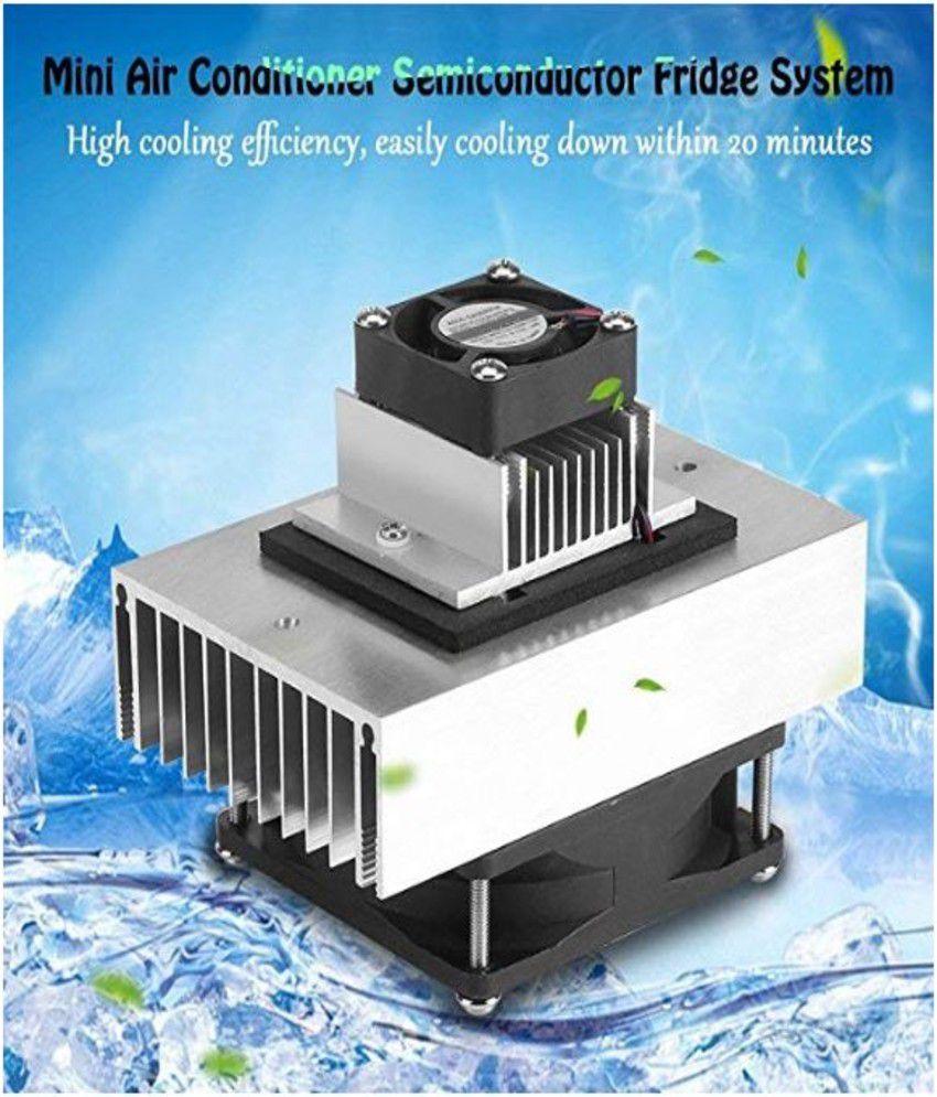 12V 60W Fridge / Refrigeration Fast Cooling System DIY Kit Mini Air  Conditioner