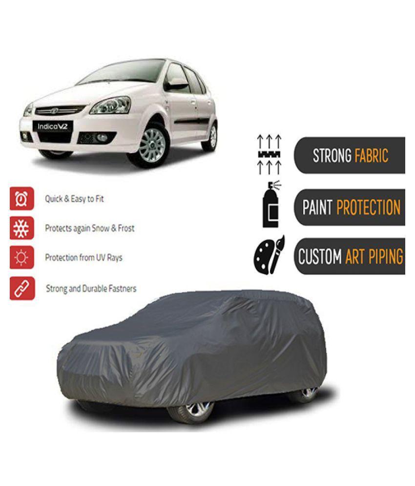QualityBeast Car Body Cover for  Tata Indica V2 Grey