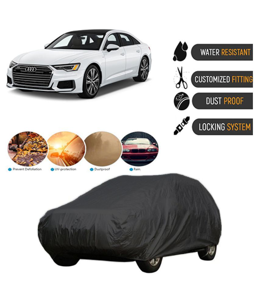 QualityBeast Car Body Cover for  Audi New A6 Black