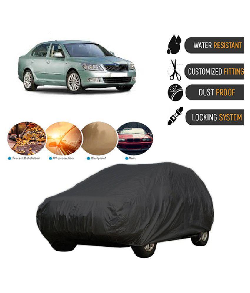 QualityBeast Car Body Cover for  Skoda Laura [2005-2009] Black