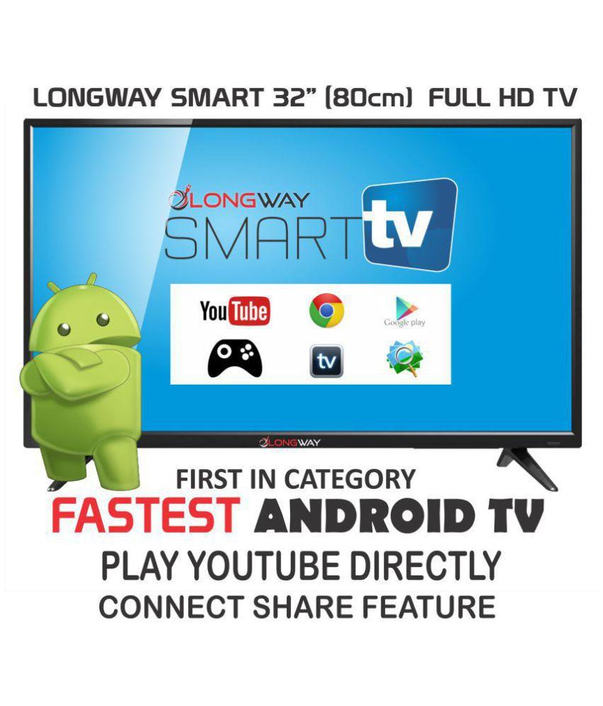 LONGWAY S7000 80 cm ( 32 ) Smart Full HD (FHD) LED Television