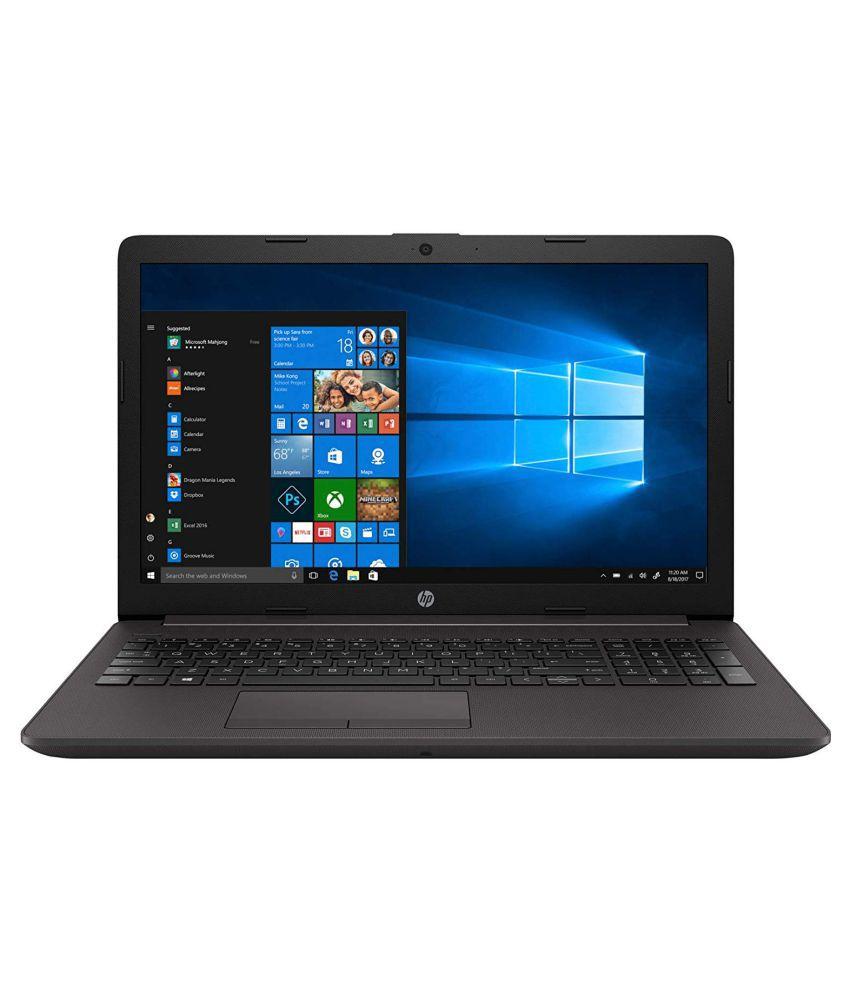 HP 250 G7 (Core i3-7th Gen/4GB RAM/1TB HDD/DOS/DVD) (Black) (7HC78PA) - 15.6 inch Laptop
