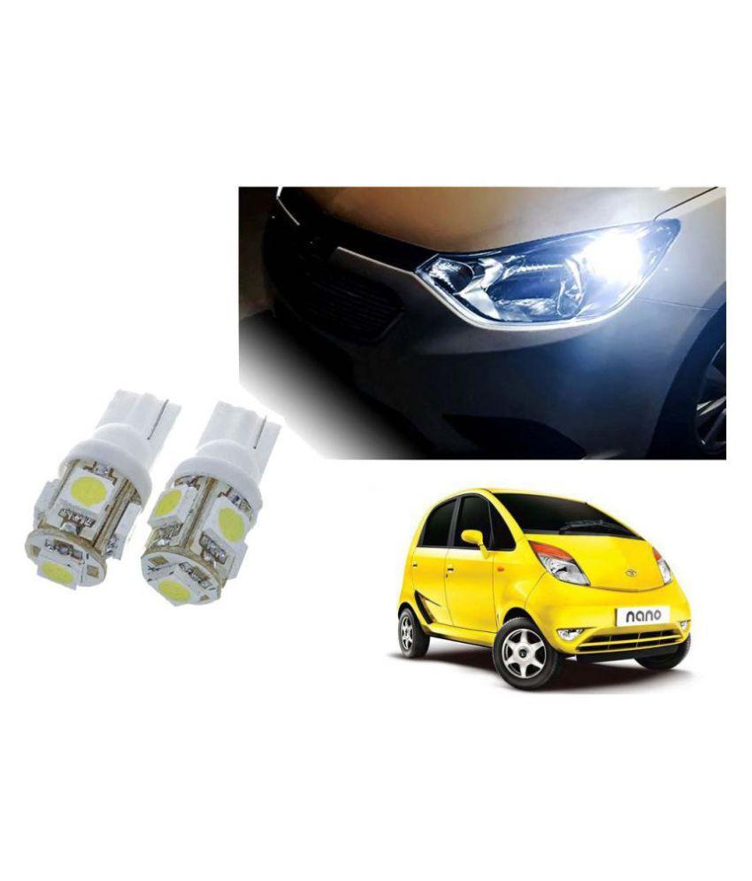 Auto Addict Car T10 5 SMD Headlight LED Bulb for Headlights,Parking Light,Number Plate Light,Indicator Light For Tata Nano