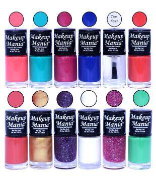 Makeup Mania Hd Colors Nail Polish Set