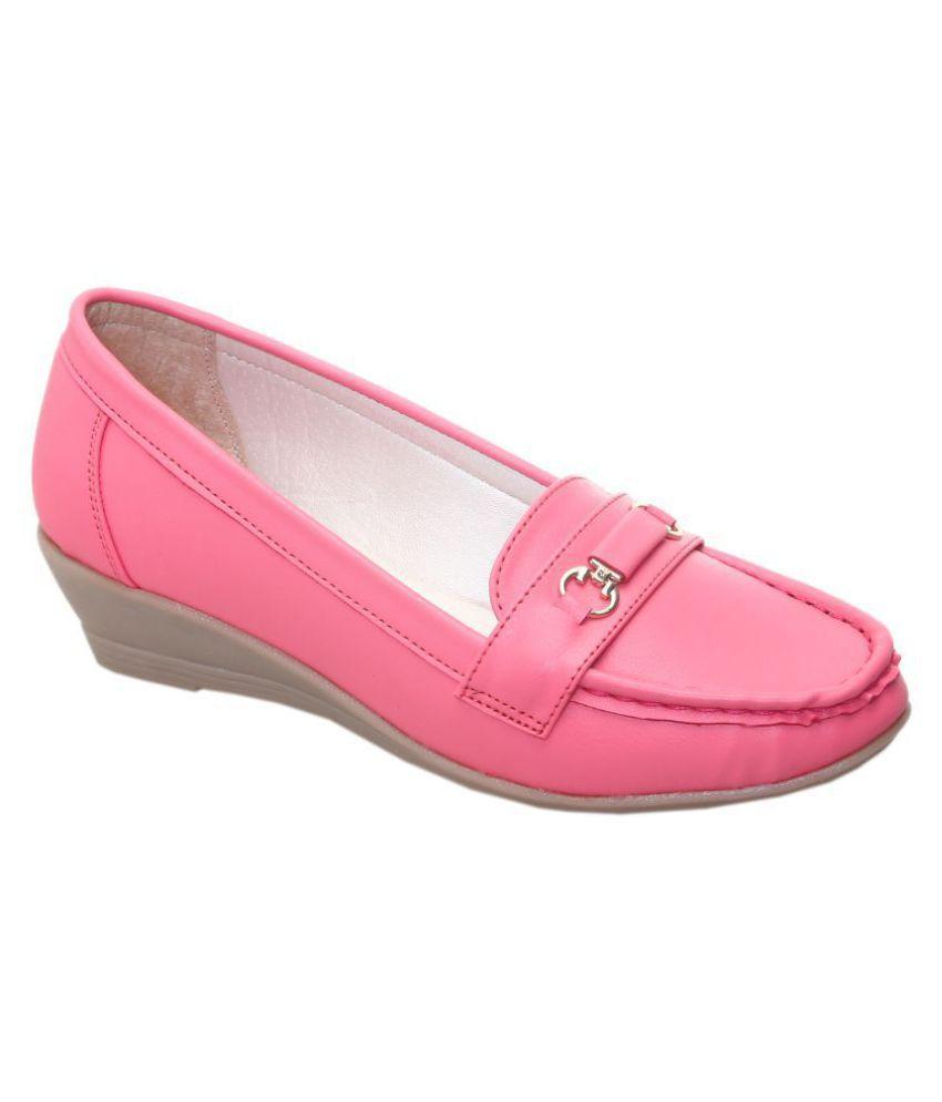 Catbird Pink Wedges Heels