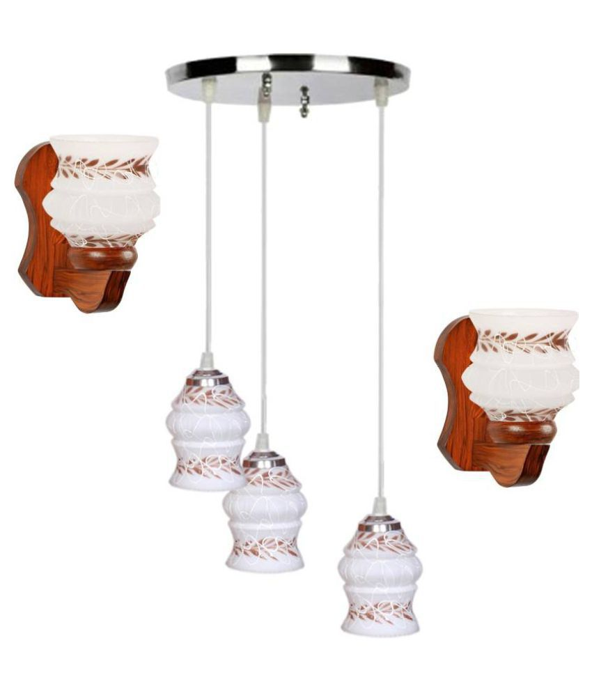 AFAST Glass Pendant White - Pack of 3