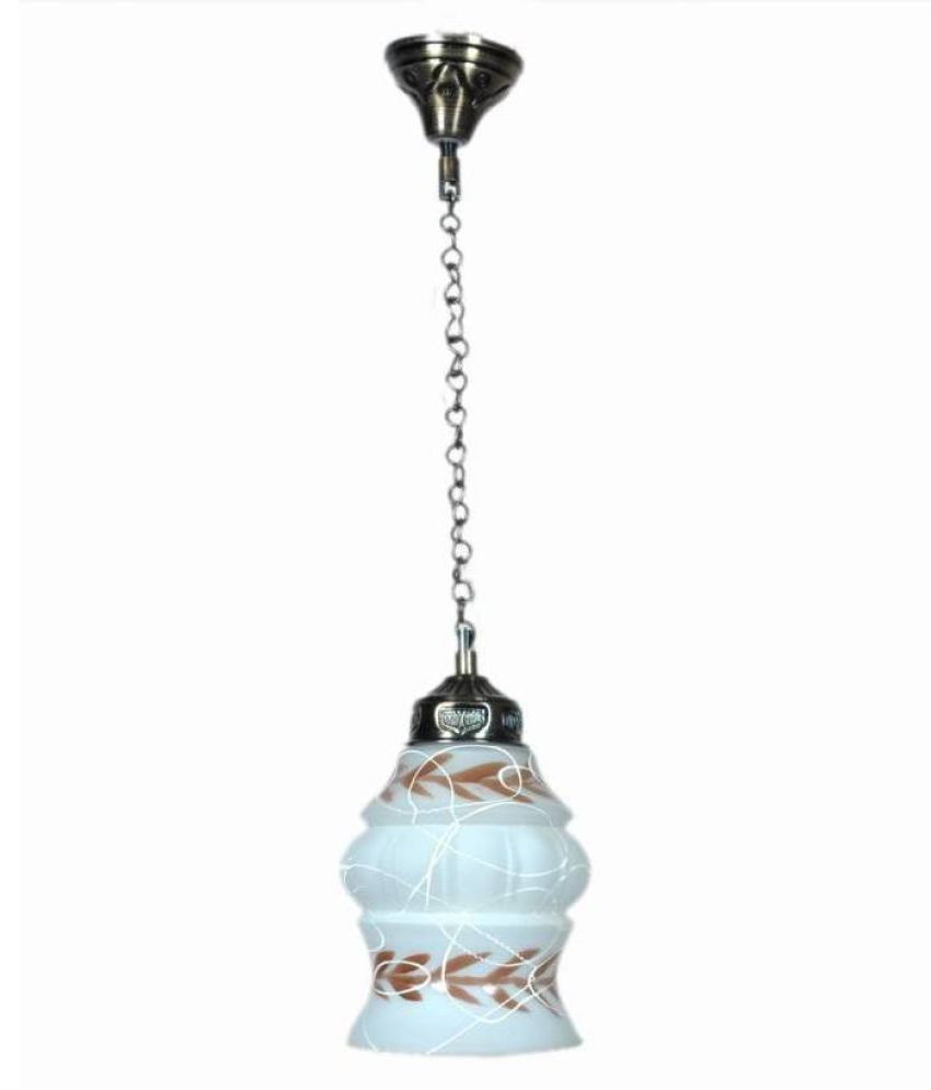 Somil Glass Exclusive Pendant Multi - Pack of 1
