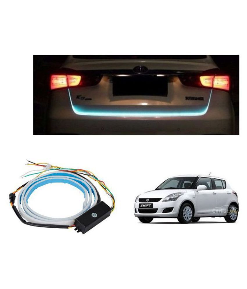 Trigcars Maruti Suzuki Swift 2016 Car Tailgate LED Strip Light