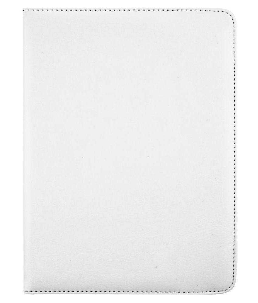 Lenovo Tab 4 10 Flip Cover By Emartbuy White