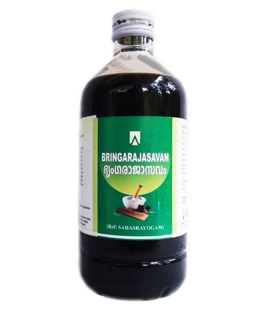 Aswini Pharmaceuticals Bringarajasavam Liquid 450 ml Pack Of 1
